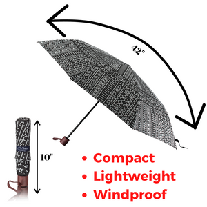 windproof umbrella strong and sturdy