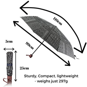 Windproof Umbrella in Scribe Folding Umbrella