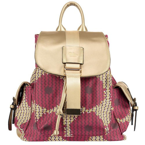 patterned backpacks