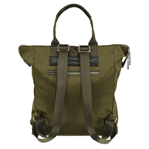 Ladies Backpack Green Olive