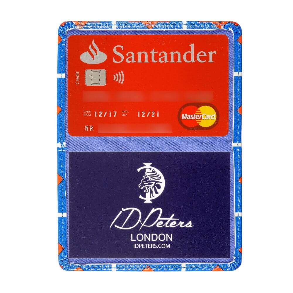 oyster card holder high quality  blue
