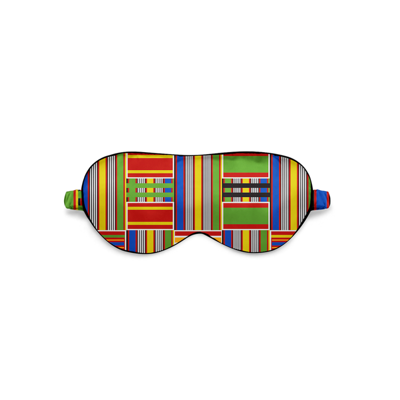 Kente blackout eye mask fro sleep