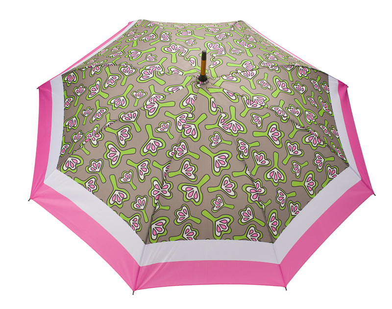 windproof umbrella Pink lilies