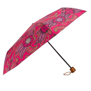 Windproof Umbrella in Pink Henna Ladies - Folding