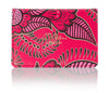 Oyster card holder Pink Henna design travel card holder