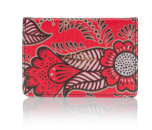 oyster card holder travel card red henna