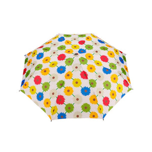 Travel Brolly - Umbrella with Windproof Design Compact Lightweight Durable with wooden handle