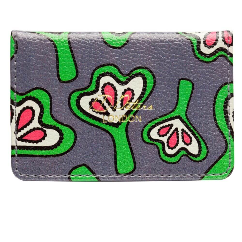 Oyster card holder  Pink Lilies quality