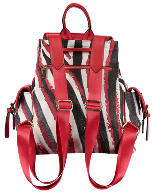 backpack ladies red