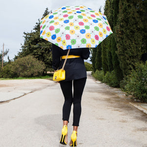 Windproof Umbrella in Multi Bloom light Folding Umbrella