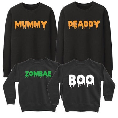 Family - Matching Trick or Treat Halloween Set (Pullover)