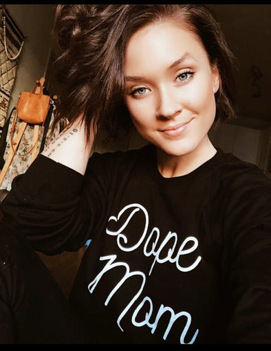 Family Matching- Dope mom  (Black Sweatshirt)