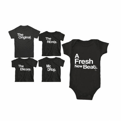 The Original Family Matching Shirt - Adult Black