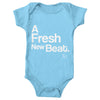 Baby Body Suit - A Fresh New Beat Baby Blue Onesie