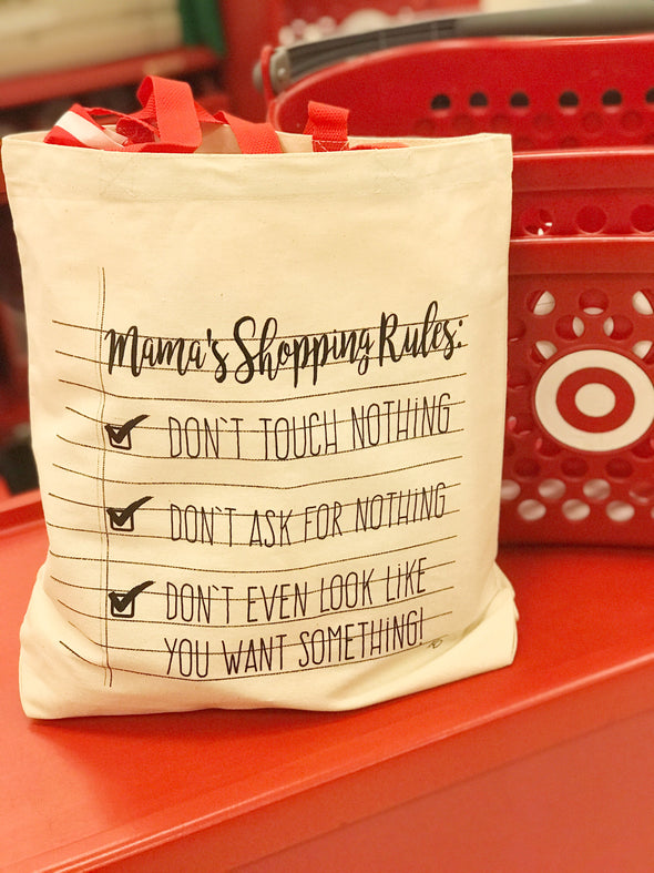Mama's Shopping Rules