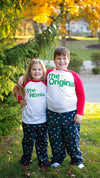 The Original The Remix The Encore® Matching Family Holiday Raglans