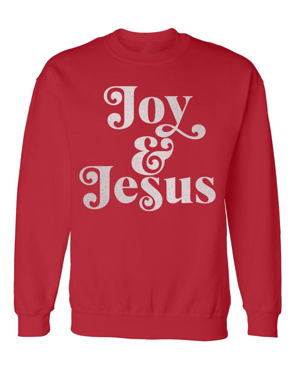 Adult- Joy and Jesus- Sweatshirt