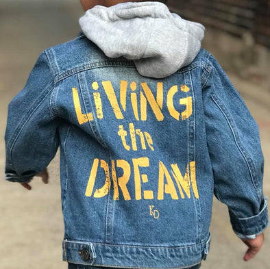 Kids-Living the Dream Jean Jacket