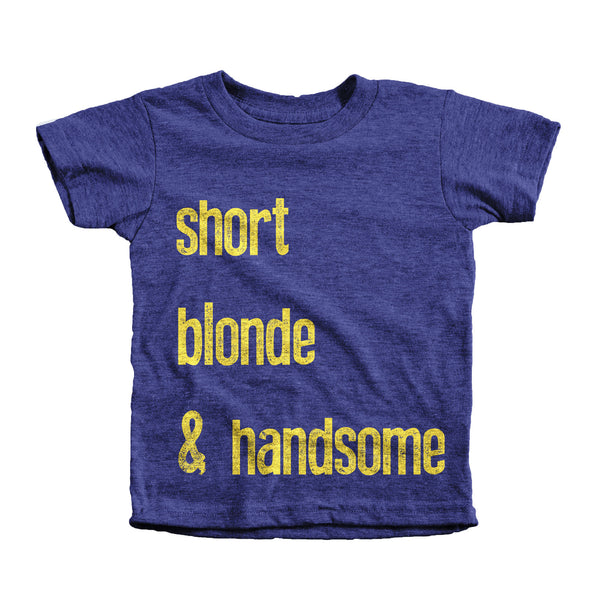 Boys- Short, Blonde, and Handsome - KaAn's Designs
