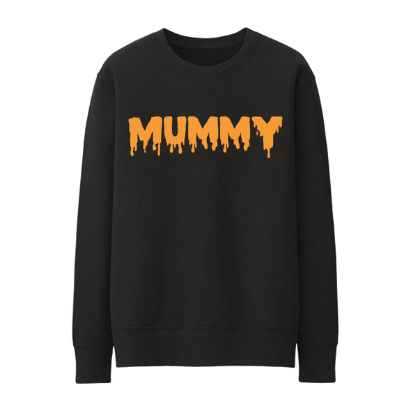 Adult - Halloween Sweatshirt - Mummy