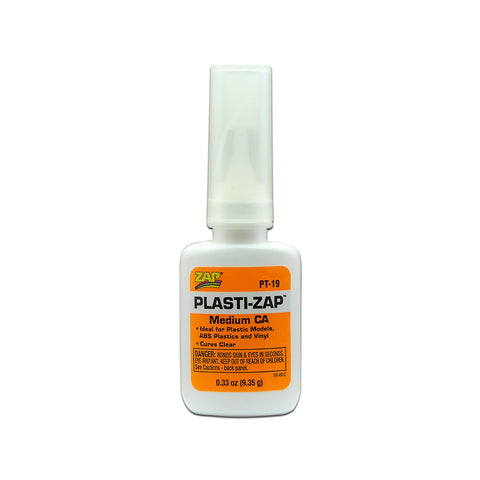 ZAP PLASTI-ZAP CA (Orange Label) Medium Viscosity