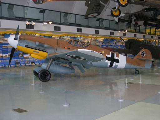 Plan - 1040 Messerschmitt Bf-109