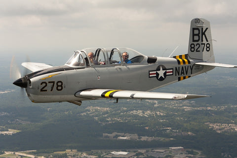 Plan - 1660 Beechcraft T-34A