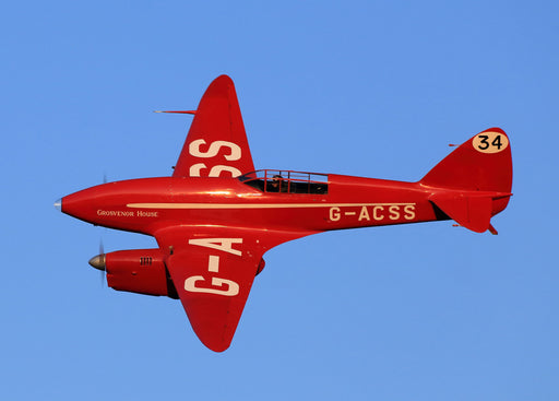 Plan - 1610 de Havilland DH.88 Comet