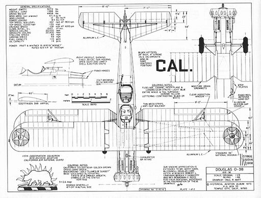 Drawing - Paul Matt - Douglas O-38