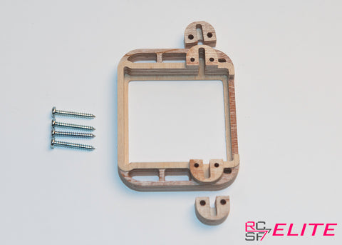 RCSF Elite - E85BHM - Servo Frame without Bearing