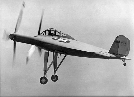 Plan - 2150 Vought XF5U Flapjack