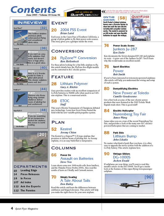 RC-SF - 2005 (Vol-10-06 June - Quiet Flyer)