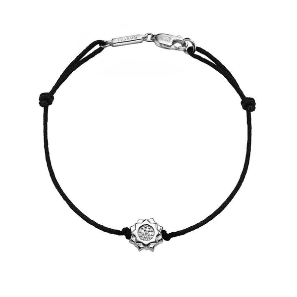 Lotus bracelet in sterling silver - Tigers & Dragons