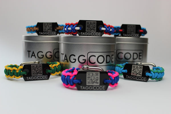 Tagg Code™ Survival Band - 325 - Custom - Tagg Code