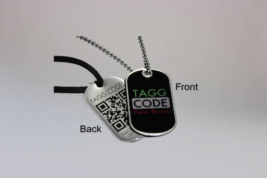 Tagg Code™ Dog Tags