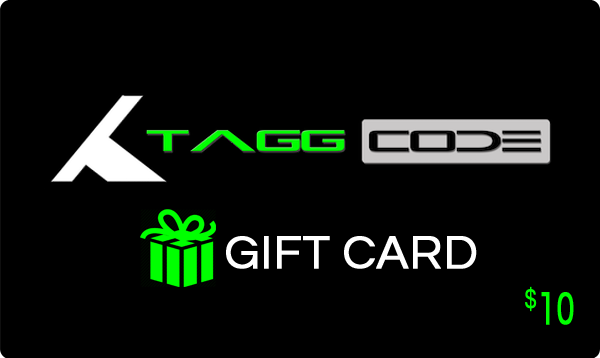 Tagg Code™ Gift Card - Tagg Code