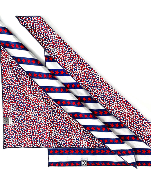 Blanket Navy Anchor Patriotic