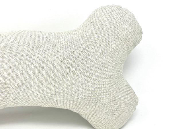 Bone Pillow Woven Oatmeal