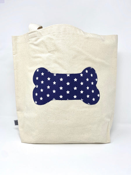 Market Bag Navy Stars