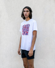 Sunno by Bene Cape cool printed white T-shirt