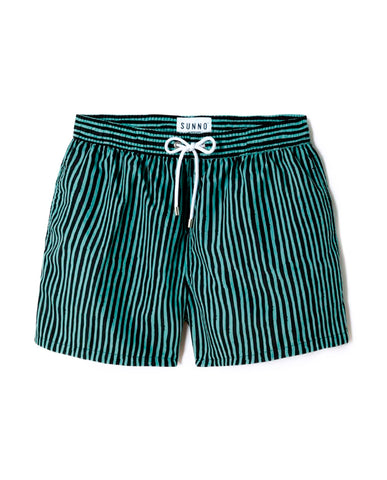 Vintage Green Handstripes