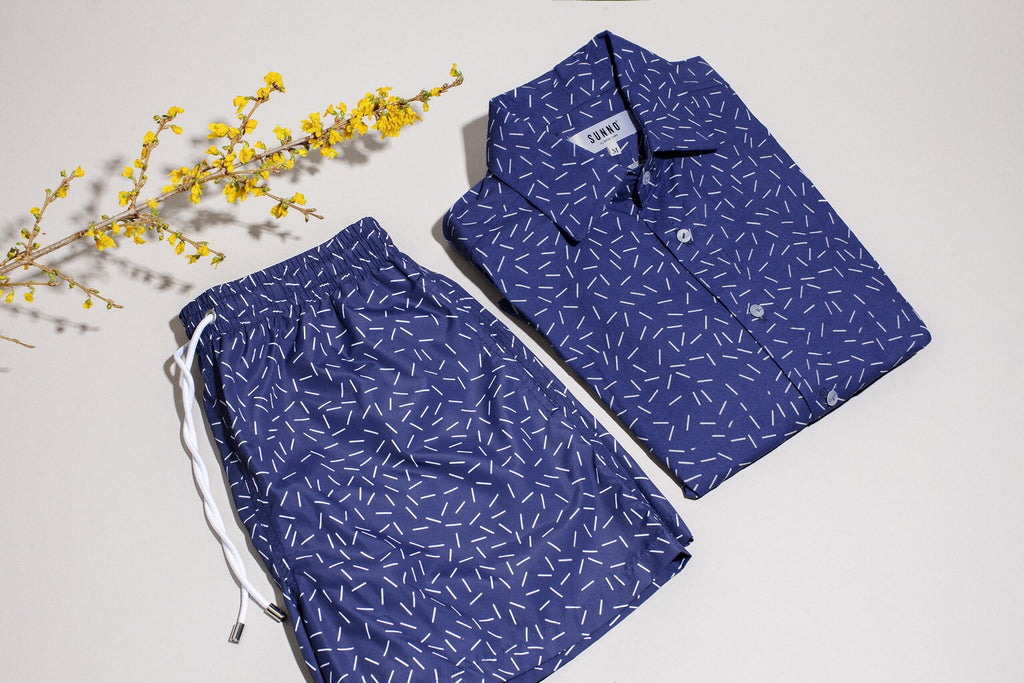 Sunno original swim shorts and shirts