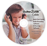 Guitar2USB 2.0™ Cable | USB Guitar, Bass, & Keyboard Recording Cable