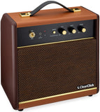 Retro Bluetooth Speaker with Active Bass Treble Control & 45W Output