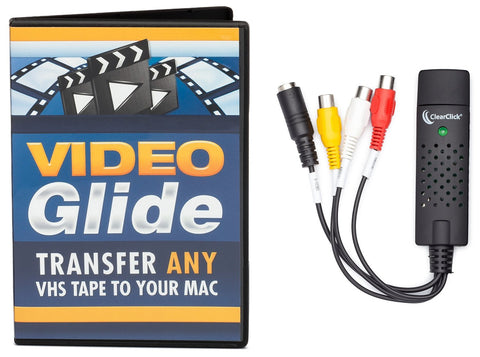 VHS To DVD Kit™ for Mac OS X | Convert Any VHS Tape To Digital Video or DVD