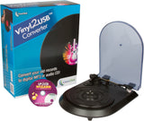 Vinyl2USB™ Record Converter | Transfer 33 & 45 RPM Records To Digital MP3 or CD