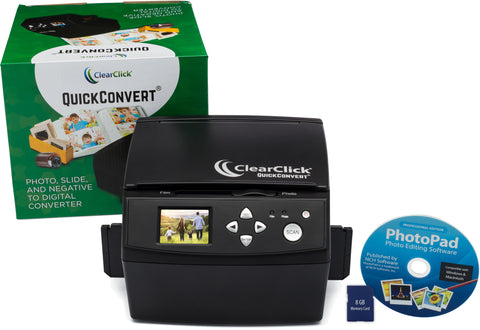 QuickConvert® | Scan Photos, Slides, & Negatives To Digital at 20 MegaPixels