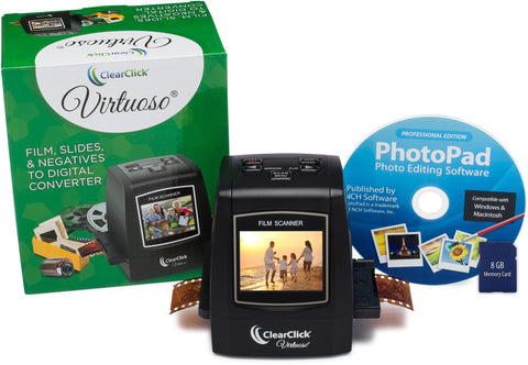 Virtuoso® Scanner | Convert Film, Slides, & Negatives To Digital JPG Photos at 22 MegaPixels