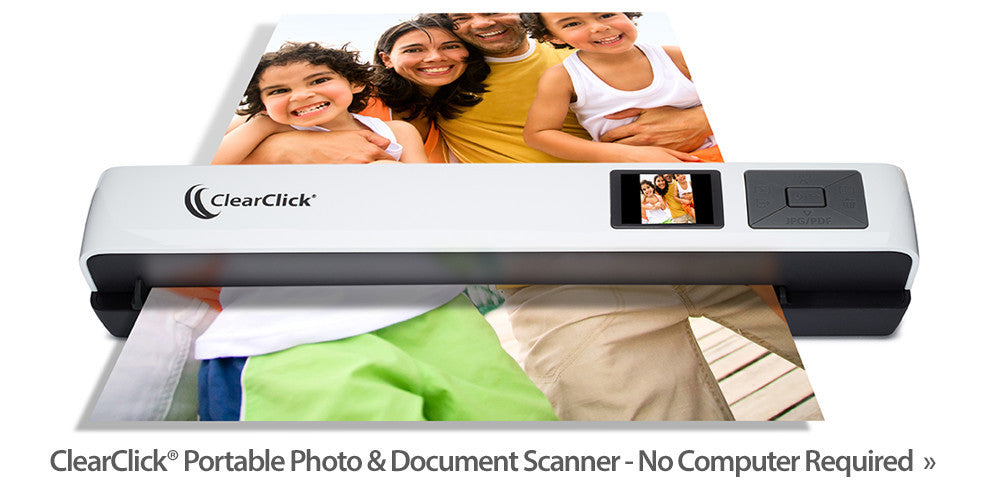 Portable Photo and Document Scanner