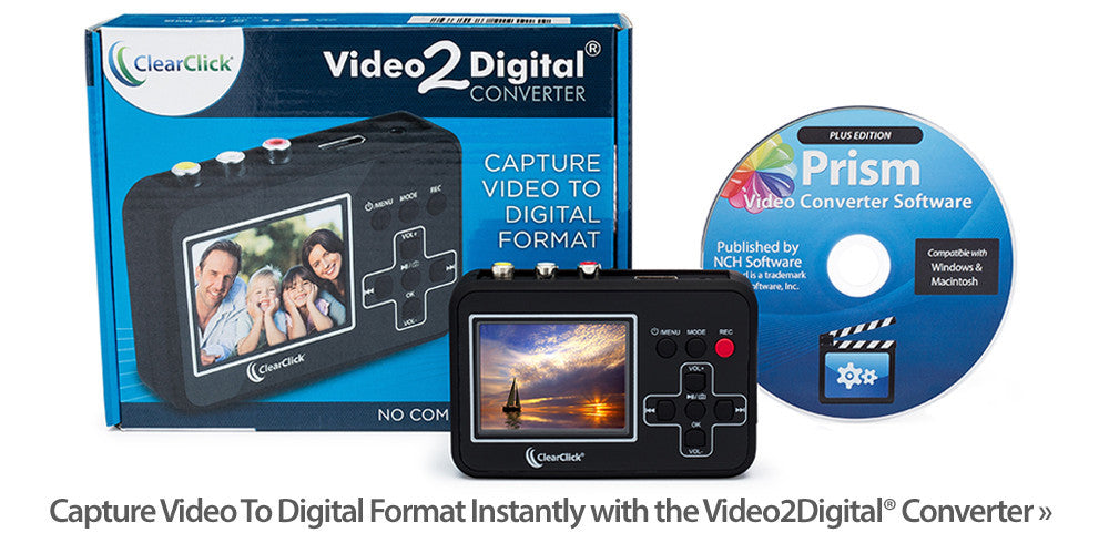 Video To Digital Capture Box